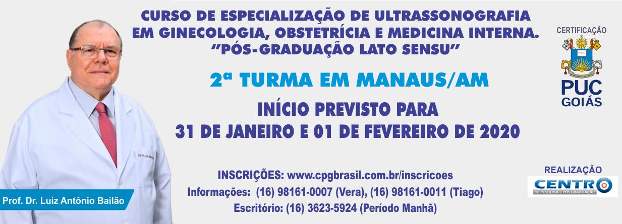 2ª TURMA EM MANAUS/AM - CURSO DE P�S GRADUA��O EM ULTRASSONOGRAFIA
