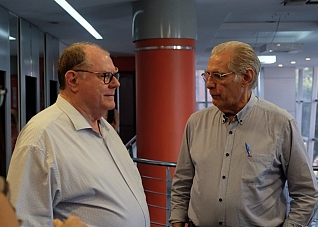Visita do Presidente do CREMAM - Dr. José Bernardes Sobrinho - P�S GRADUA��O ULTRASSONOGRAFIA EM MANAUS/AM